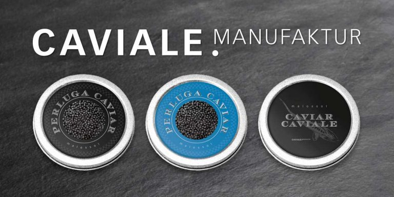 Caviale Manufaktur Product Packaging