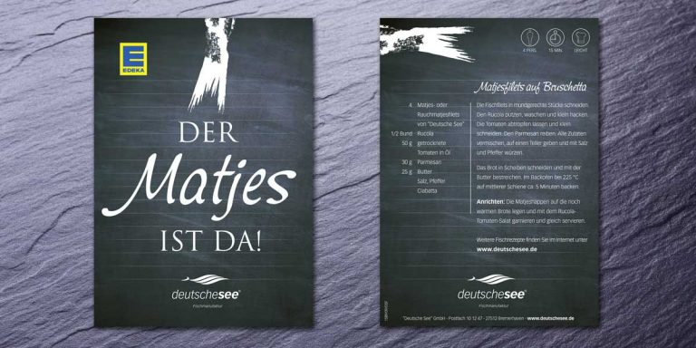 Deutsche See Recipe Booklet