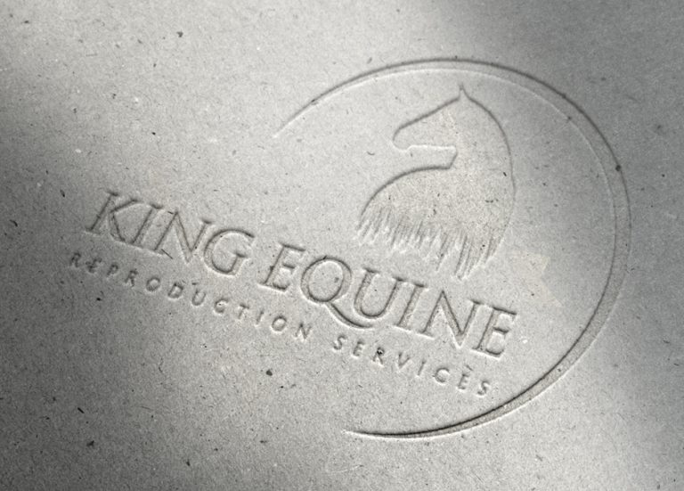 King Equine Logo