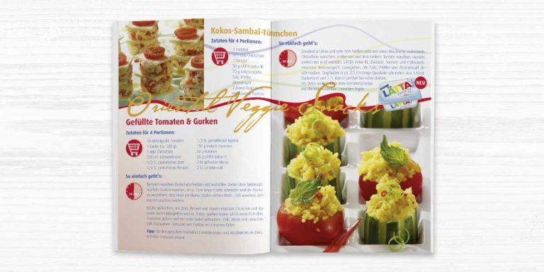 Unilever/Laetta Recipe Booklet
