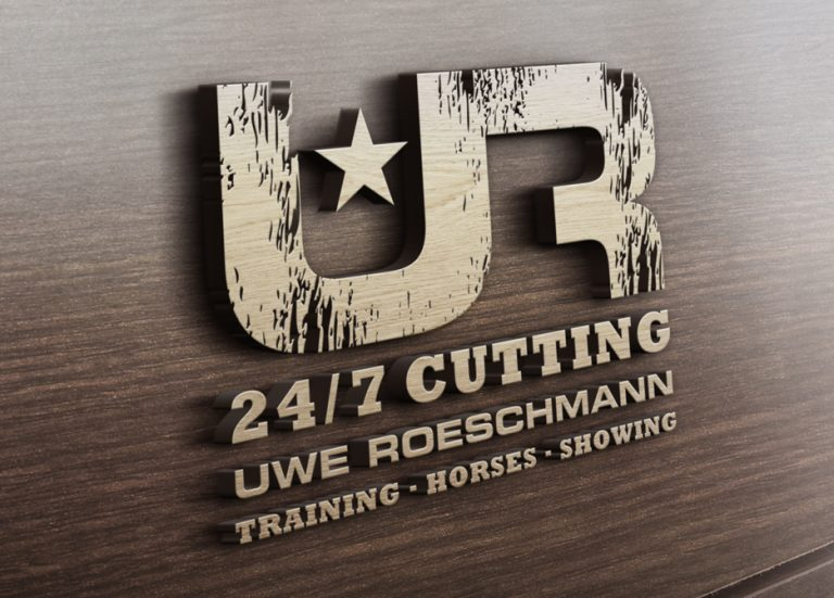 Roeschmann Cutting Horses Logo