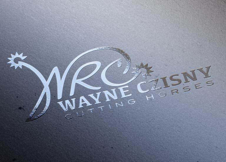 Wayne Czisny Cutting Horses Logo
