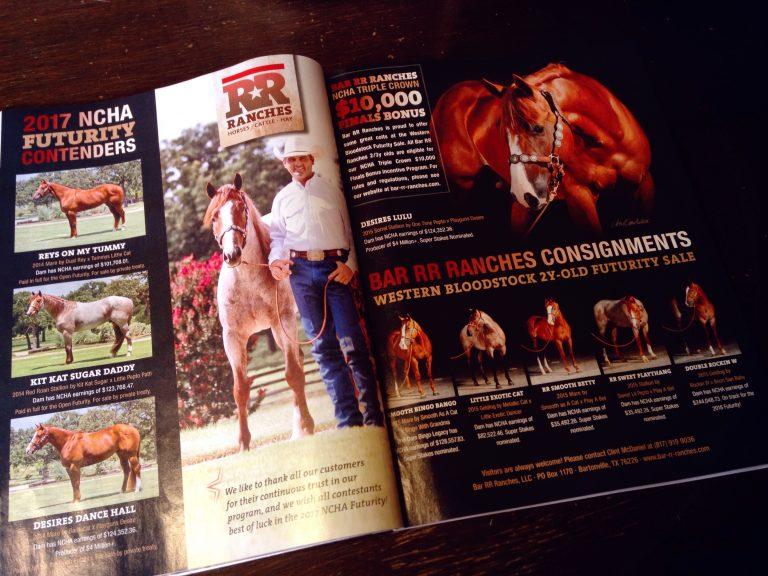 Bar RR Ranches Magazine Ad